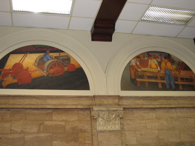 Modesto Post Office Murals