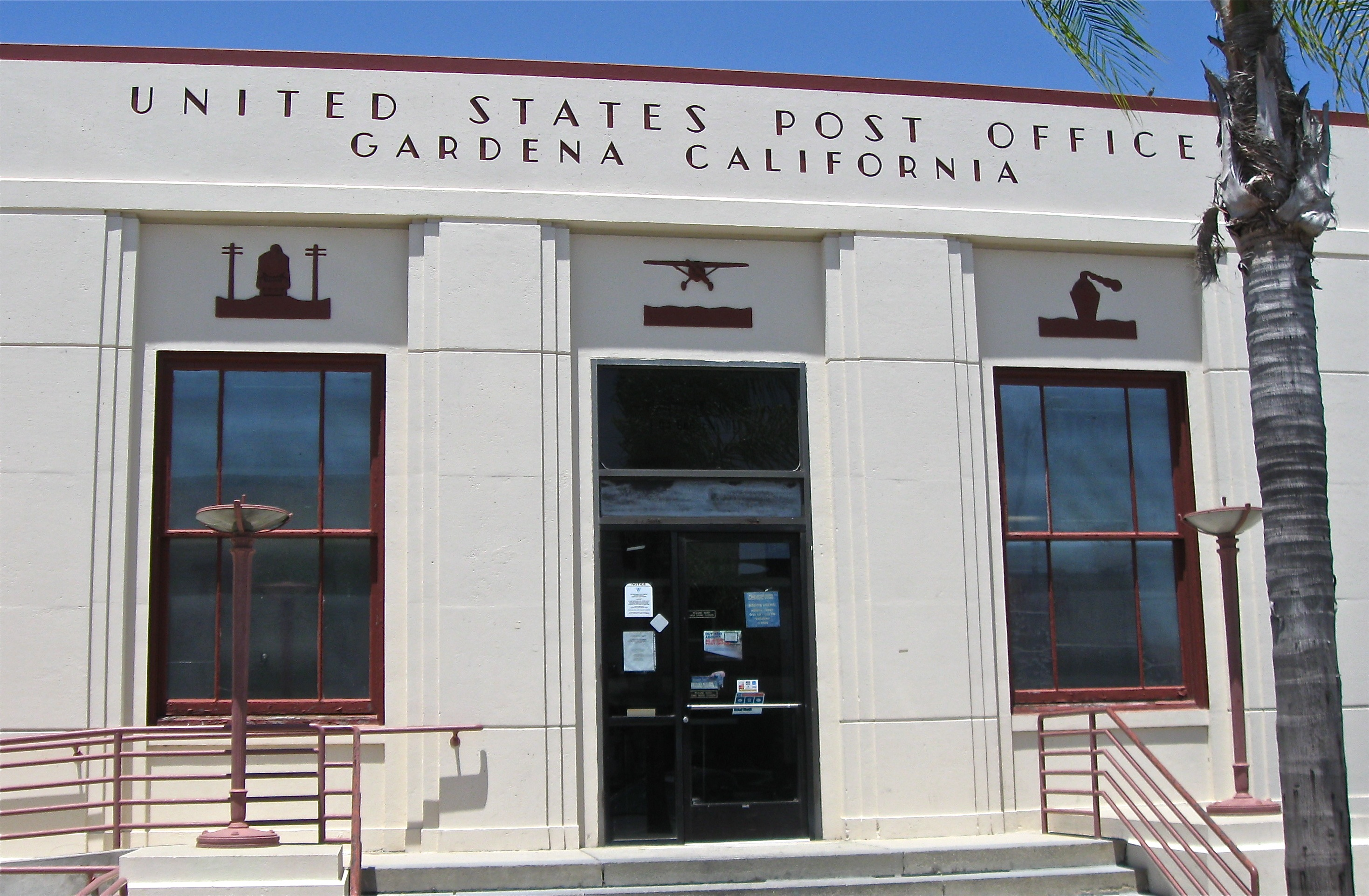 Gardena Post Office Facade