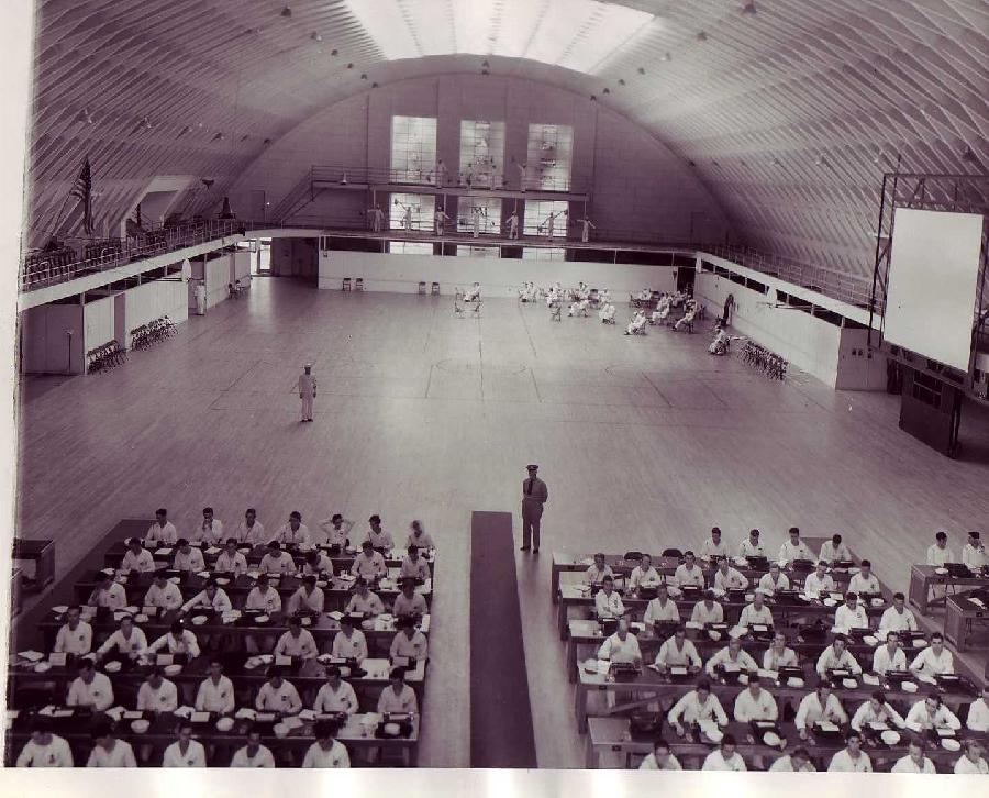 Interior of Los Angeles Naval and Marine Reserve Armory