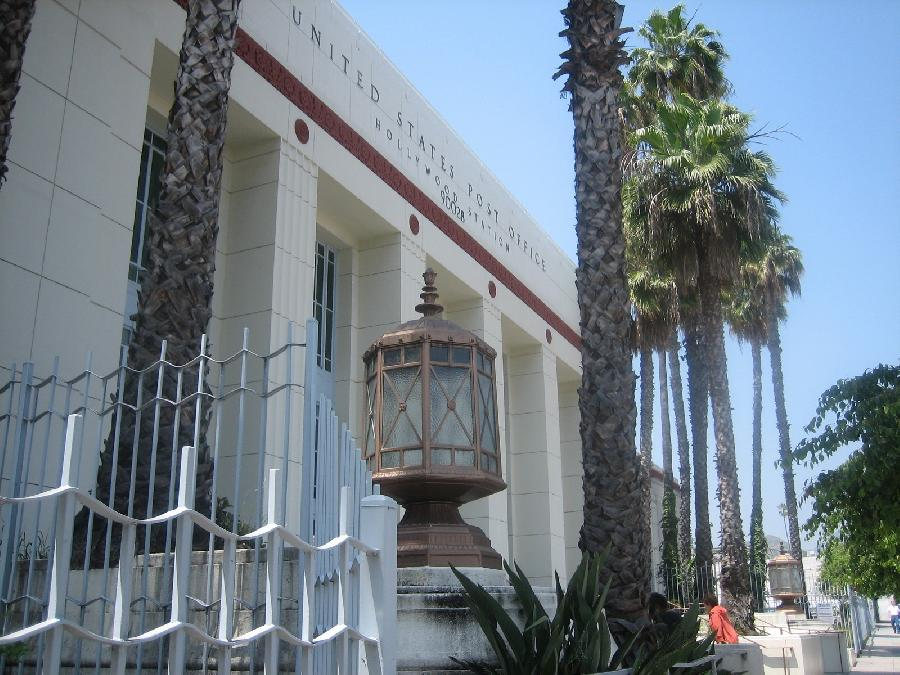 Hollywood Post Office Front