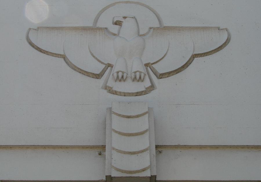 Santa Barbara Post Office Eagle