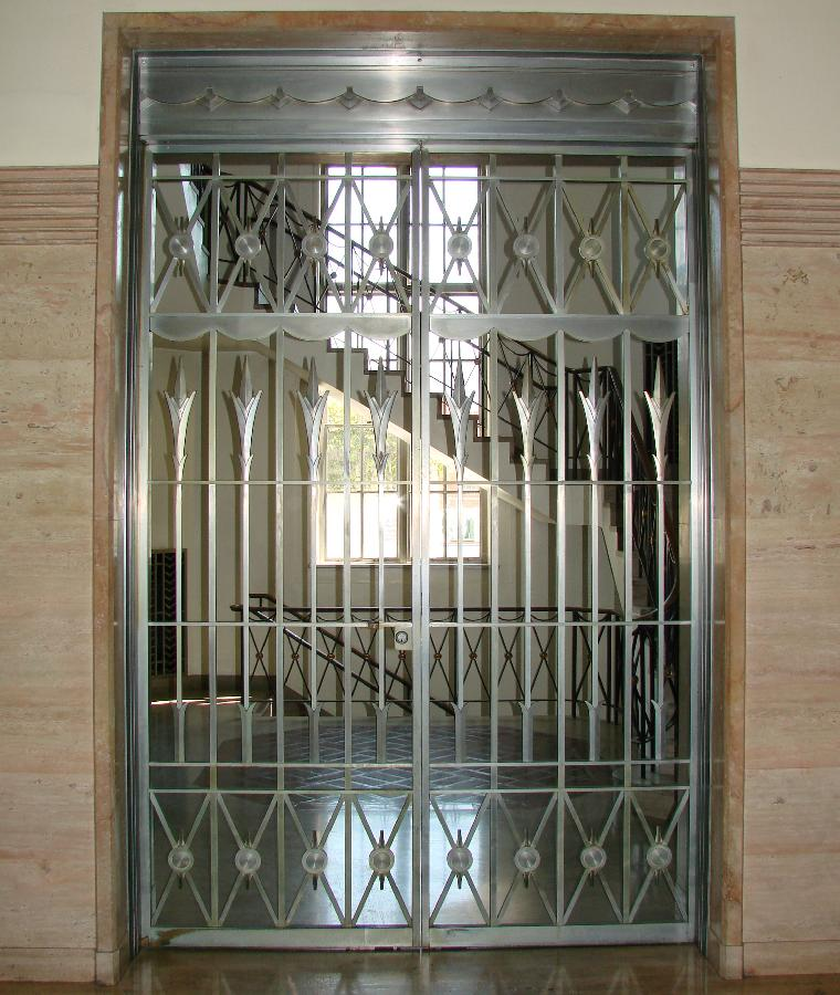 Santa Barbara Post Office Metal Gate