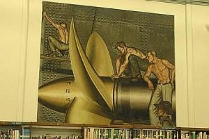 """Industrial Life in San Pedro"" Mural"