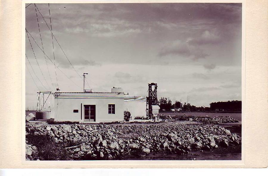 Burlingame Sewage Disposal Plant Archive Photo - 2