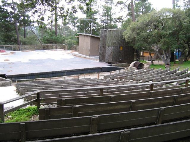 Carmel Forest Theater Stage