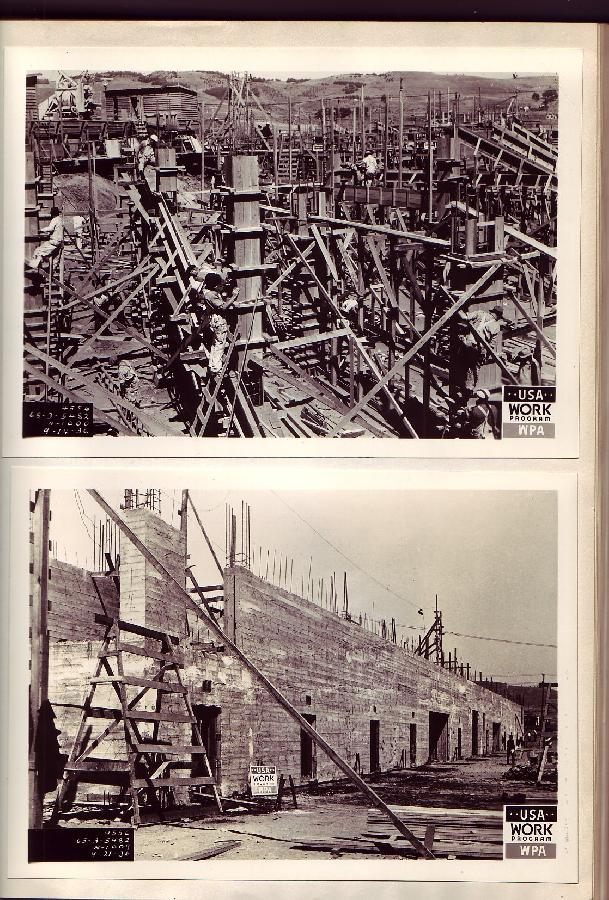 Construction of the Cow Palace