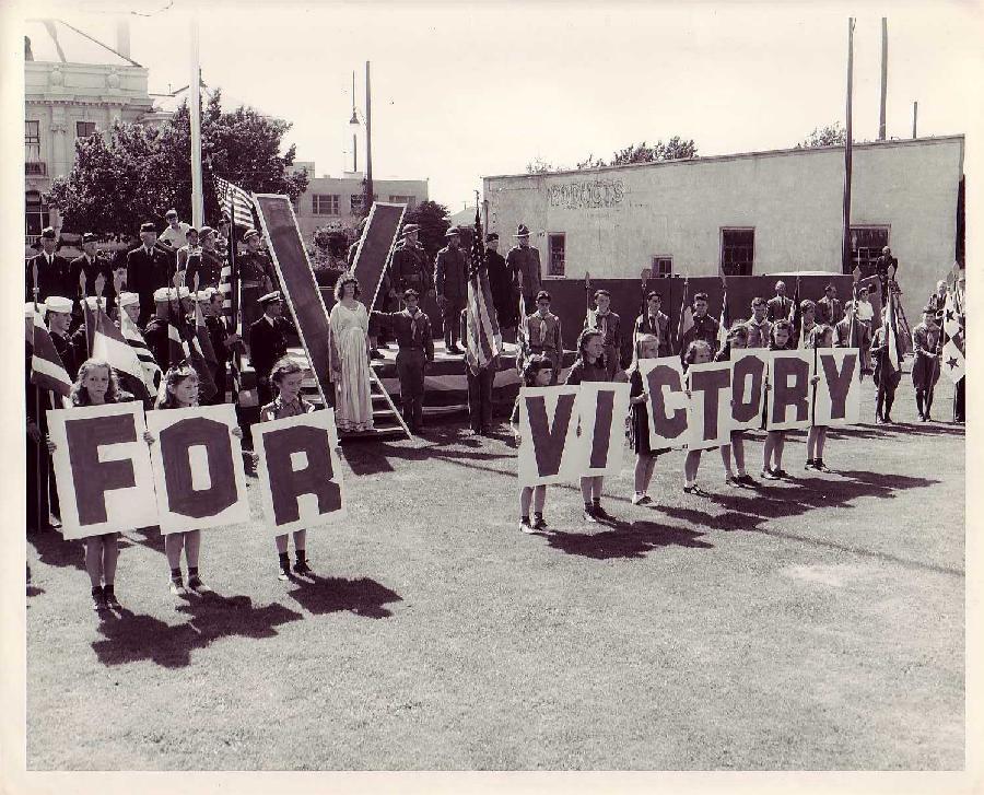 Berkeley Civic Center Dedication Ceremony Marchers