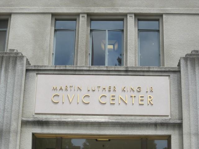 Martin Luther King Jr. Civic Center Entrance
