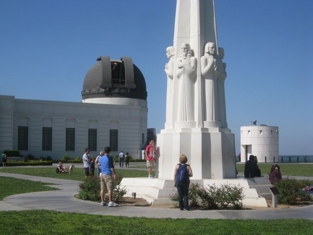 Griffith Park Astronomers' Monument