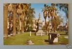 Lincoln Park & Public Library Postcard
