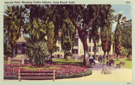 Lincoln Park & Public Library (linen)