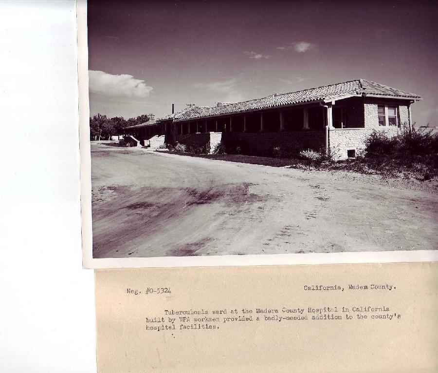 Madera County Hospital Tuberculosis Ward