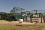 SW baseball field, with bleachers, Nicholl Park - Richmond CA