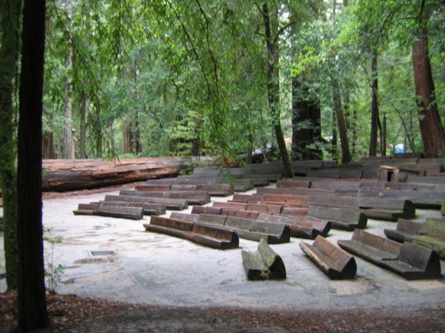 Big Basin State Park Amphitheater Seating