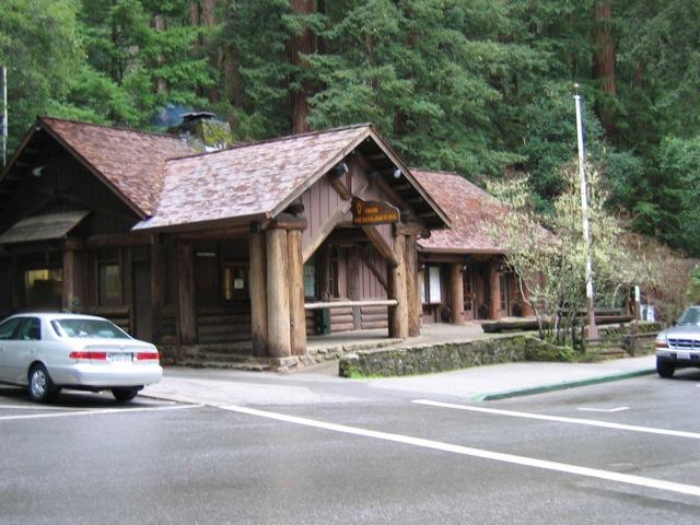 Big Basin State Park Visitors Center - 2