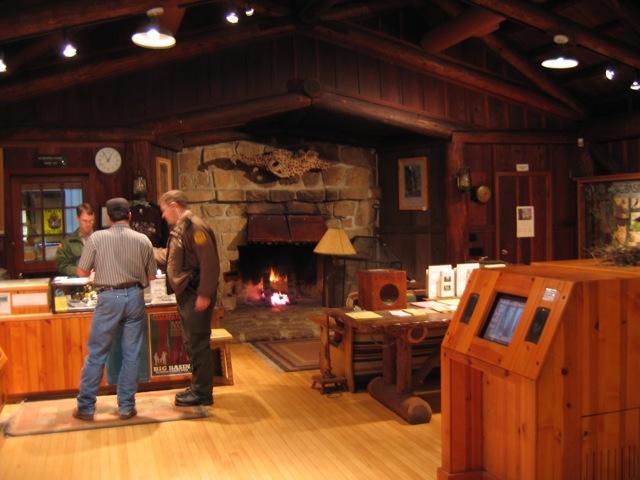 Big Basin State Park Visitors Center Interior