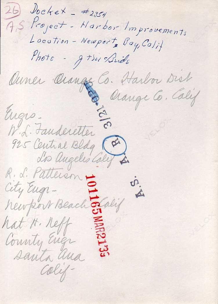 Newport Bay Harbor Verso