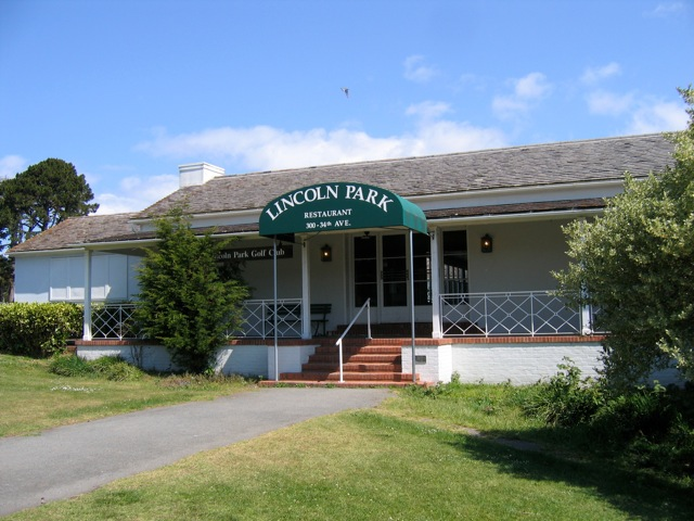 Lincoln Park Golf Course Clubhouse