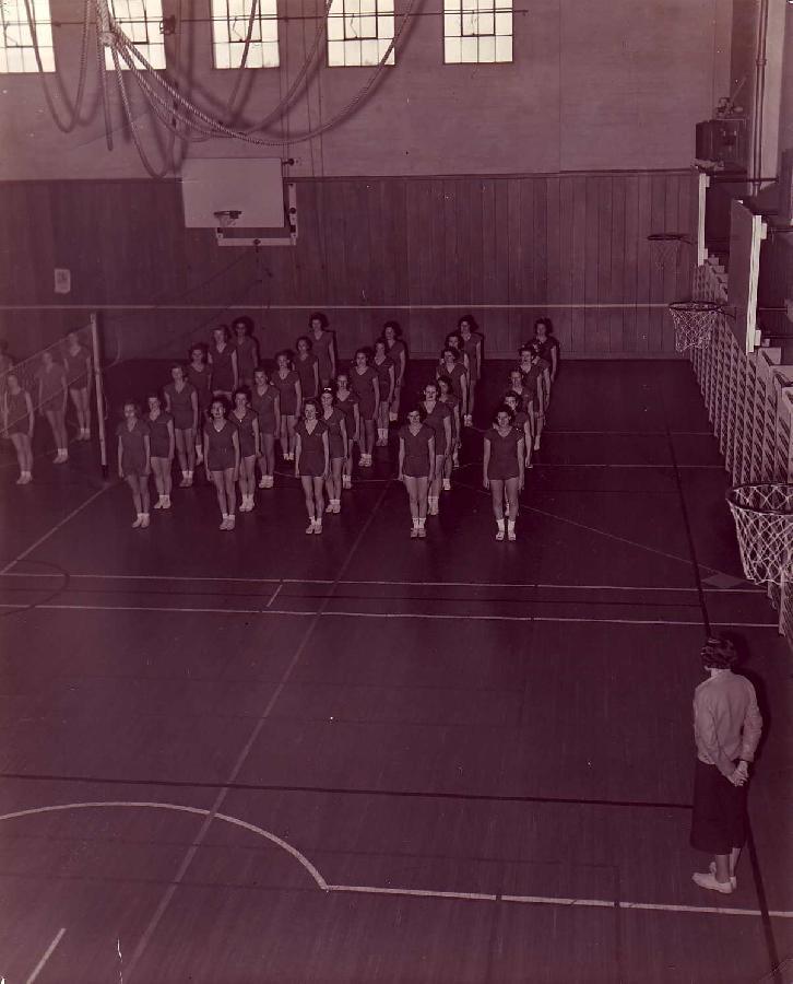 Gym Class at Polytechnic Highschool