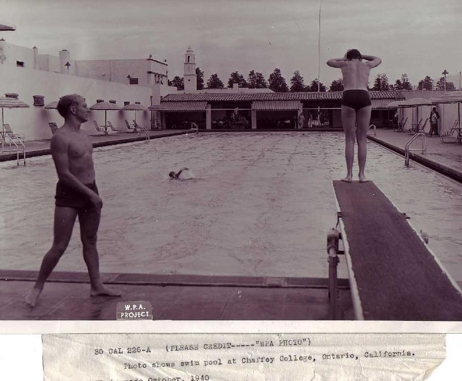 Chaffey Swimming Pool