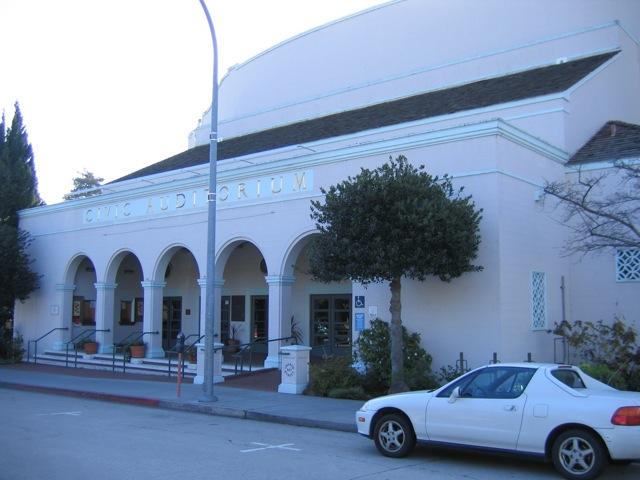 Santa Cruz Civic Auditorium Entrance
