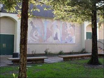 Canoga Park High School Lundeberg Mural 2