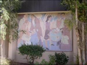 Canoga Park High School Lundeberg Mural