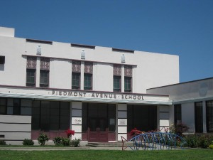 Piedmont Avenue School Entrance