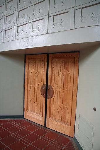 Barnum Hall Theater Interior Entrance