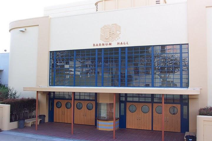 Barnum Hall Theater Entrance