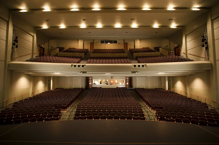 Barnum Hall Theater Interior