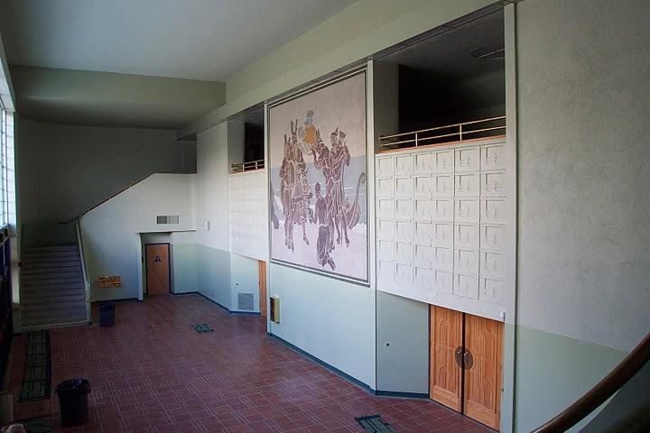 "Barnum Hall Theater Lobby - ""The Vikings"""