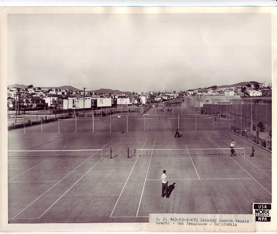 Crocker Amazon Park Tennis Courts