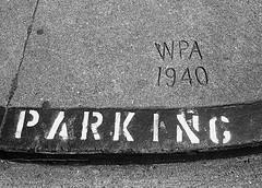 Daly City WPA Sidewalk Stamp