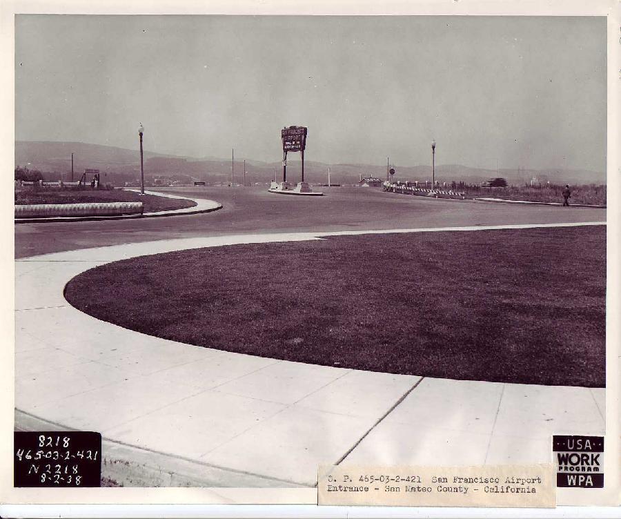 San Francisco Airport Entrance