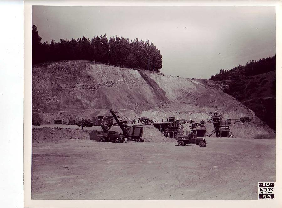 Quarry Work for San Francisco Airport Construction