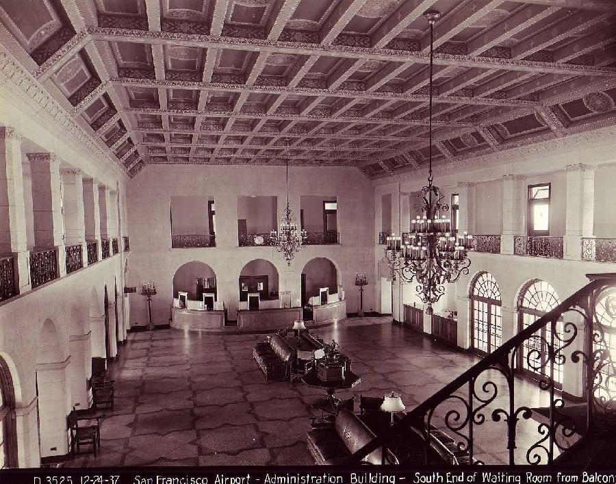 San Francisco Airport Administration Building Interior
