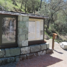 Pinnacles CCC Stone Stand and Trail Maps