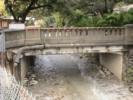 Sierra Madre Cement Bridge with Stamp