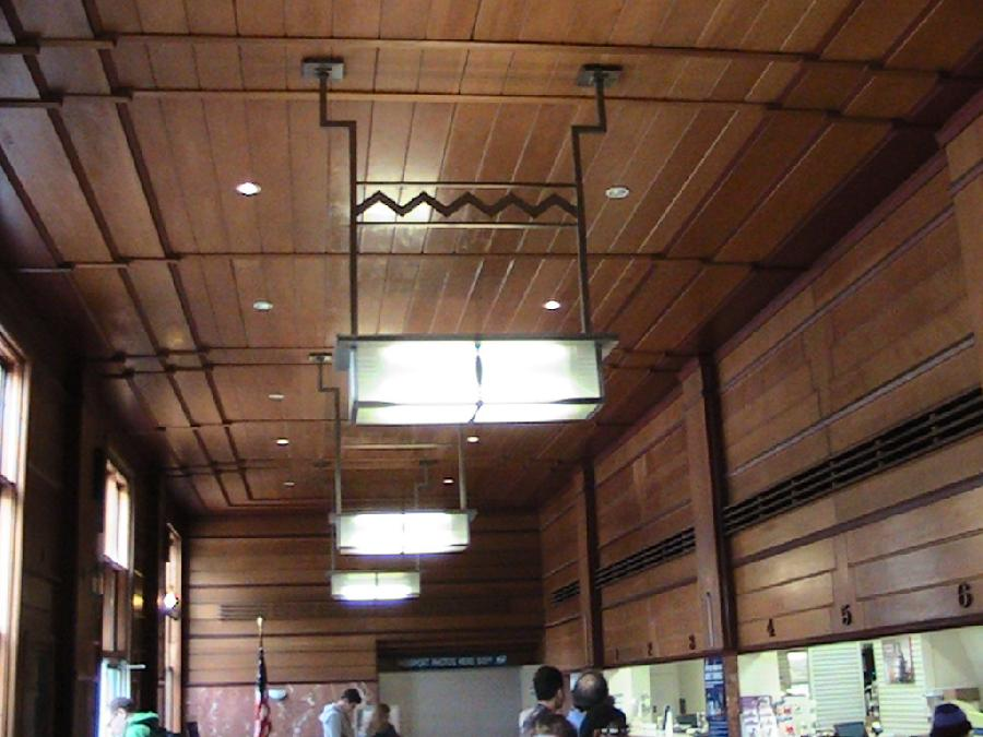 Santa Monica Post Office Interior