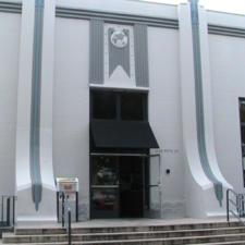 Santa Monica Post Office Entrance