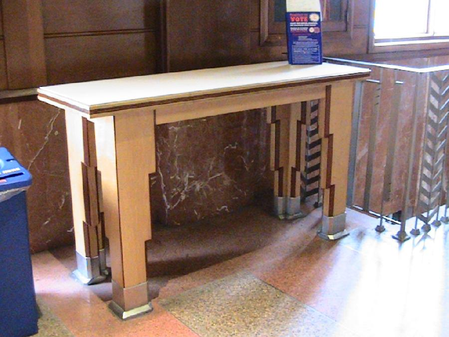Santa Monica Post Office Deco Table