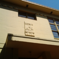 Lincoln Science Building Relief