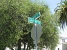 Center Street Sign