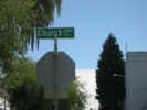 Church St. Sign