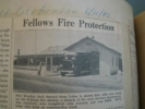 Bakersfield Californian, 1940 Article on Fellows Fire Station