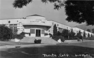 Hudson Elementary School in La Puente. c. 1950s