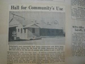 Tehachapi Memorial Hall