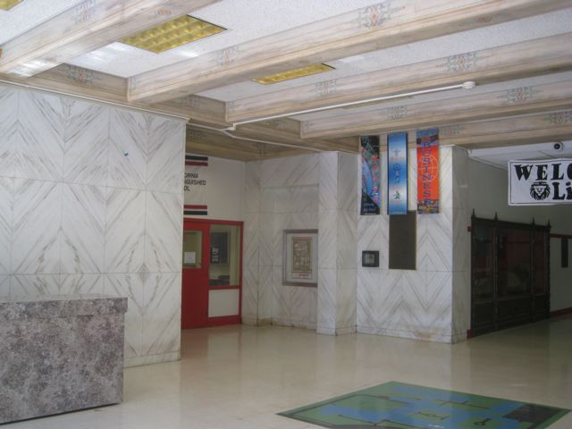 McClatchy High School Interior