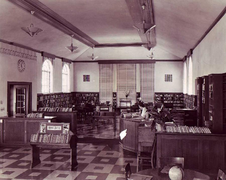 Alameda Public Library Interior